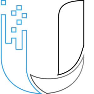 Ubiquiti Networks Inc. Logo (Blue, Gray, Black, Hollow)