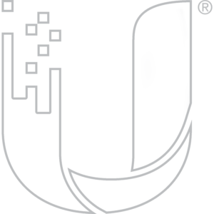 Ubiquiti Networks Inc. Logo (Gray, Hollow)