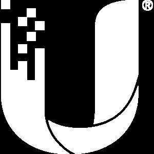 Ubiquiti Networks Inc. Logo (White)